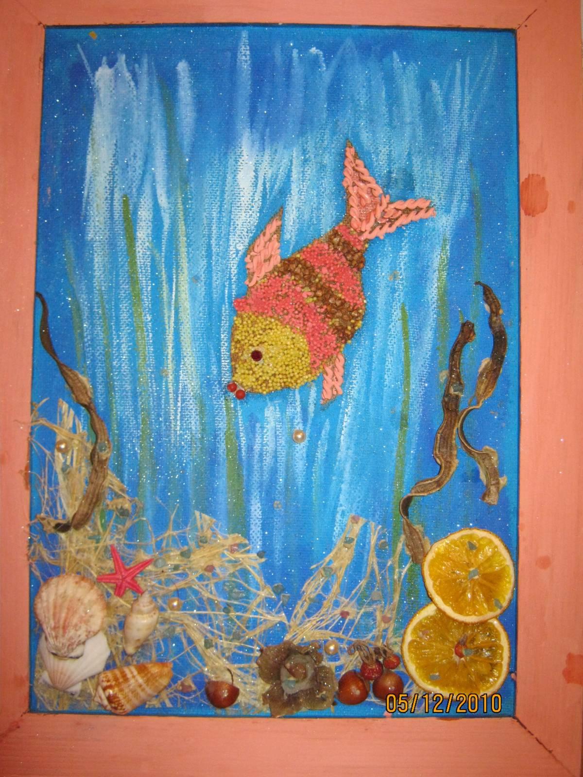 Подводный мир - поделка своими руками из бумаги 48